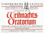 J.S.Bach Weihnachtsoratorium IV - VI in der Taborkirche Leipzig